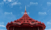 Temple roof Thai style