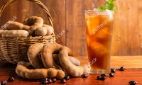 Tamarind juice with ice